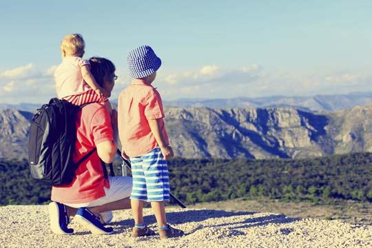 Familien-Kurzurlaub