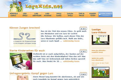 Legasthenie Linktipp: LegaKids