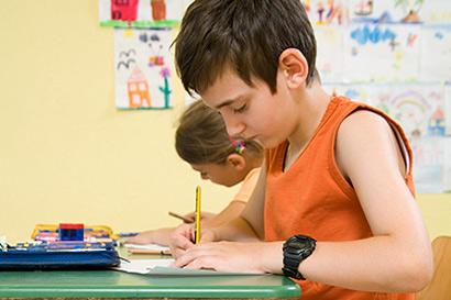 4. Klassen: Schüler unter Leistungsdruck