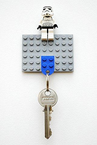 Life Hacks: Schlüsselhalter aus Lego