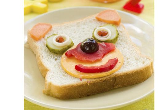 Lustige Brote: Bärchen