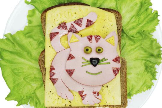 Lustige Brote: Kater