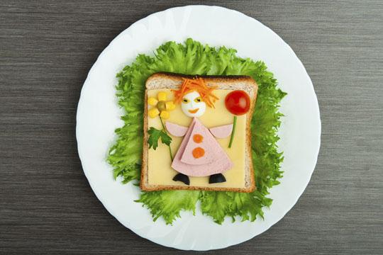 Lustige Brote: Prinzessin