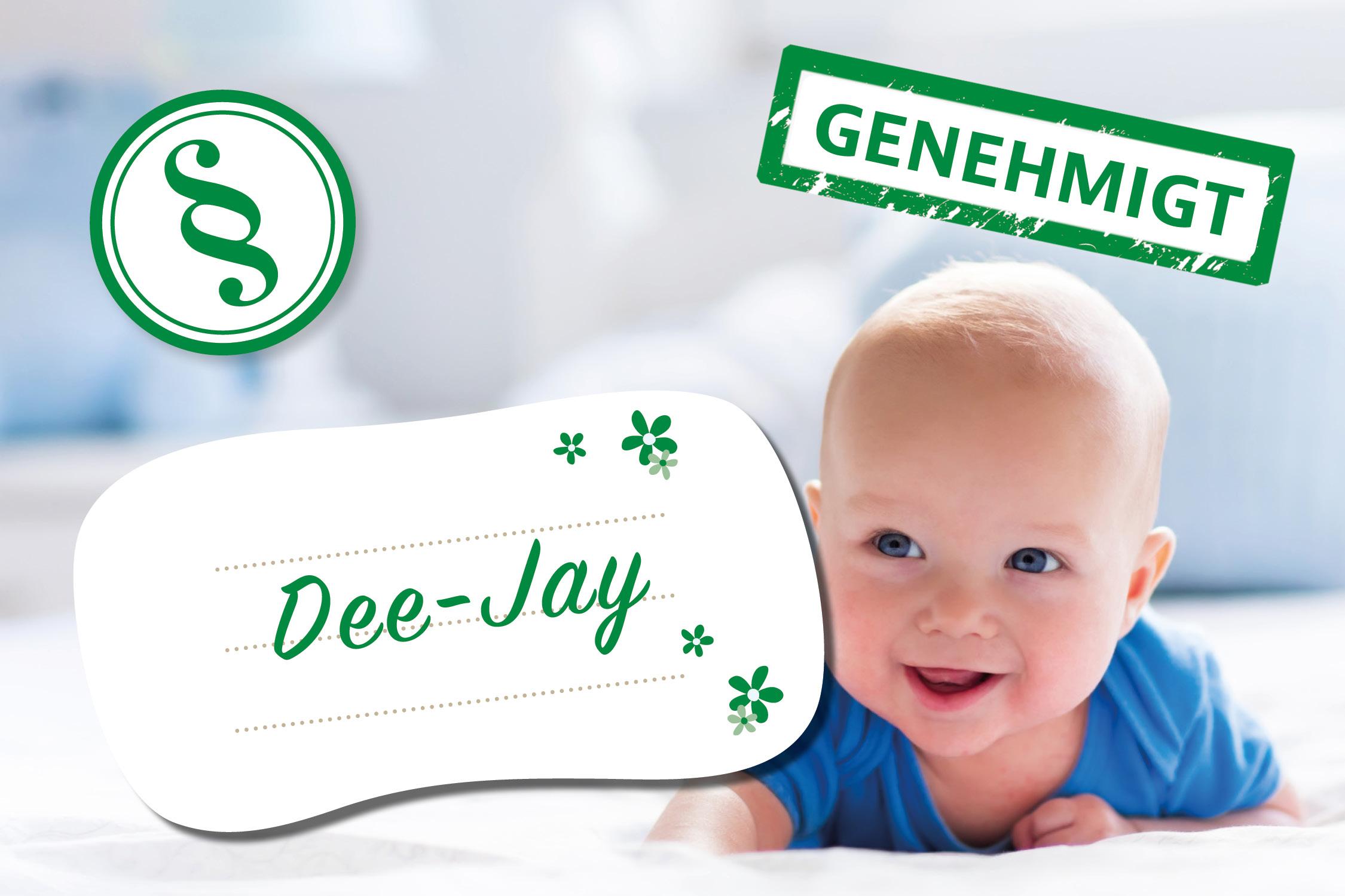 Lustige Vornamen: Dee-Jay