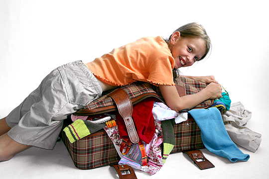 Heimweh bei Kindern: Selber packen