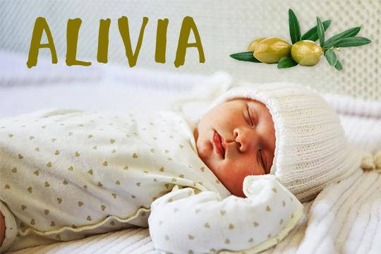 Blumige Mädchennamen: Alivia