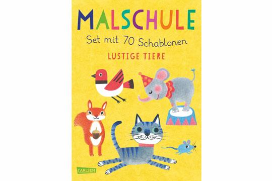 """Buchempfehlung: Malschule """"Lustige Tiere"""""""