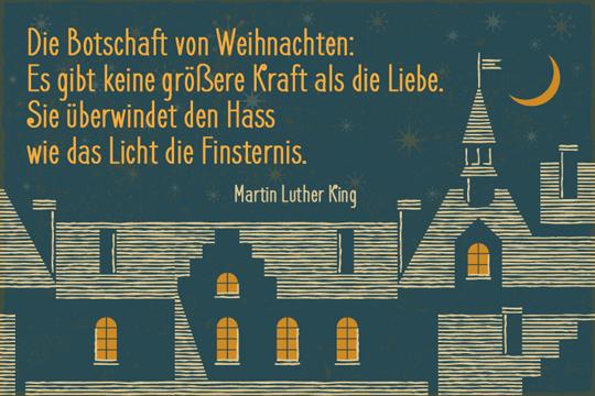Die Botschaft von Weihnachten