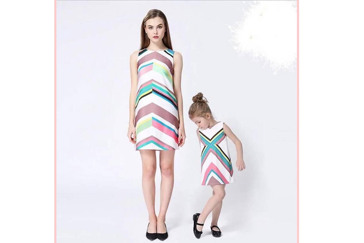 Matching Outfits für Mama und Tochter