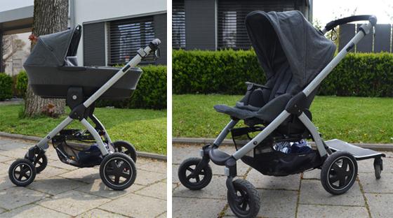 Maxi Cosi Stella: Kinderwagenaufsatz und Buggyaufsatz