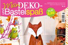 Mein Deko- und Bastelspaß - Bunte Herbstzeit