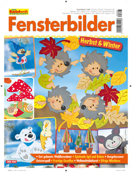 Cover: Meine Bastelwelt Sonderheft - Fensterbikder Herbst & Winter