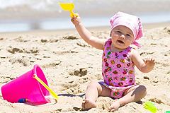 Mit dem Baby sicher durch den Sommer