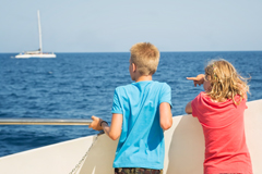Mit dem Schiff übers Mittelmeer