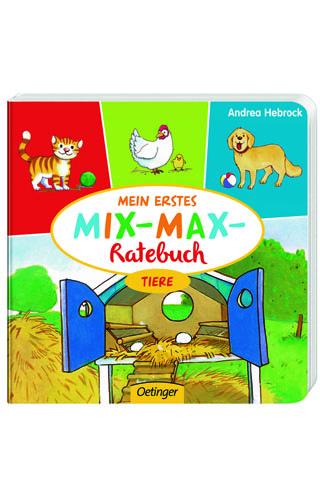 """Buchtipp: Mein erstes MIX-MAX-Ratebuch """"Tiere"""""""