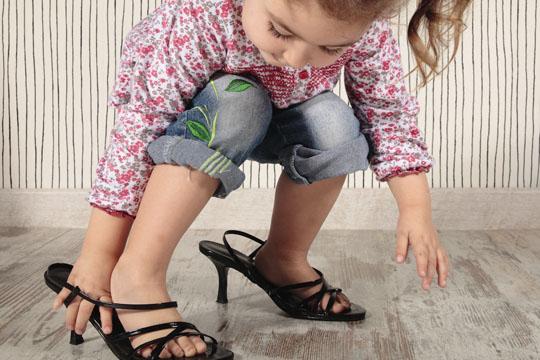 Tipps für Aktivitäten mit Kindern: Modenschau