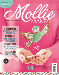 Mollie Makes Cover 22/2016