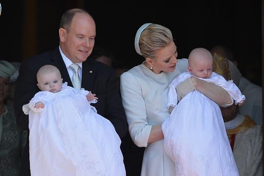 Taufe der Monaco-Zwillinge