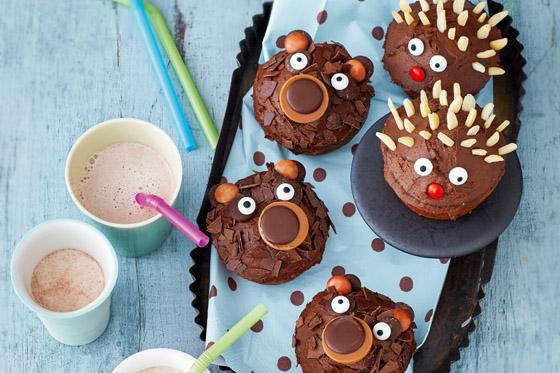 rezepte f r den kindergeburtstag lustige muffins. Black Bedroom Furniture Sets. Home Design Ideas