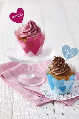 Muffins zum Muttertag