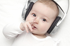 Musik fördert Babys Entwicklung