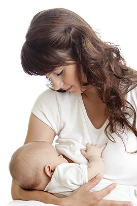 Muttermilch ist das Beste fürs Baby