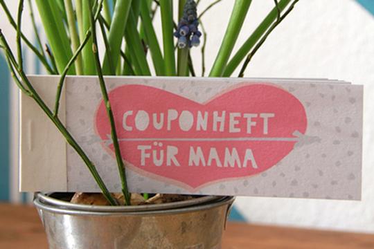 Muttertagsgeschek: Couponheft