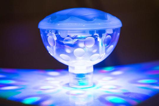 Muttertagsgeschenk: Unterwasser Lightshow