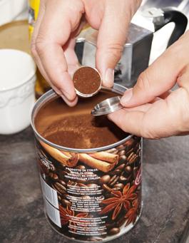 Mycoffeestar befüllen