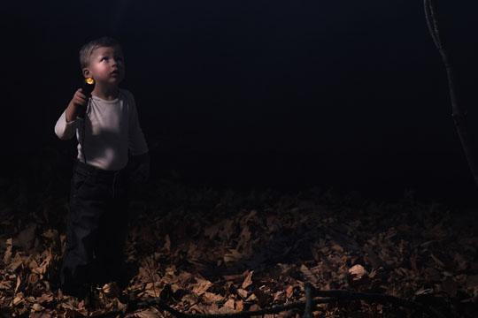 Ausflüge mit Kindern: Nachtwanderung