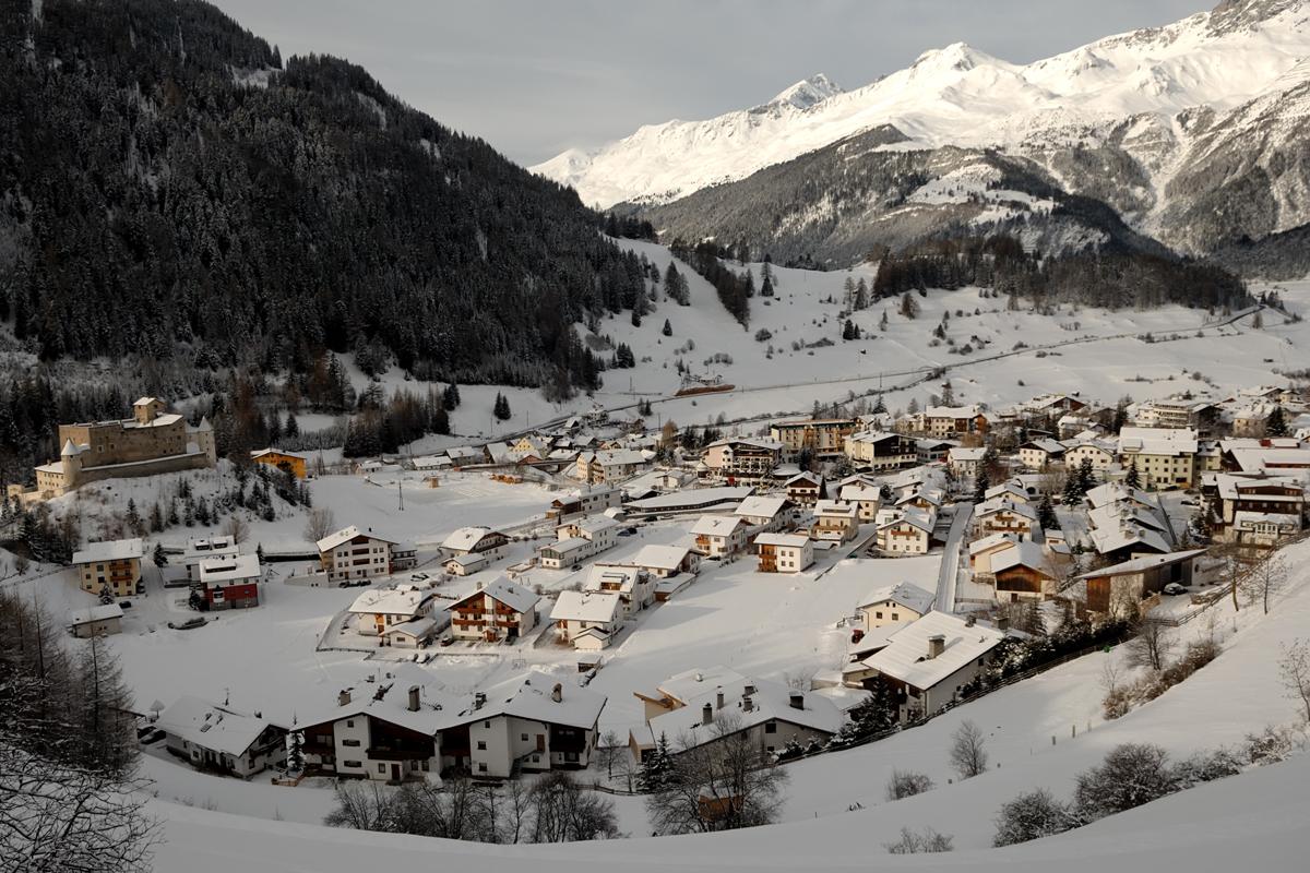 Nauders am Reschenpass in Tirol