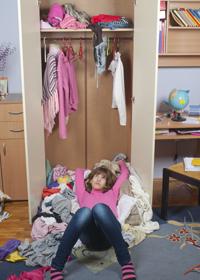 Ordnung halten: Teenager