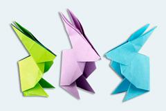 Origami Hase falten Anleitung