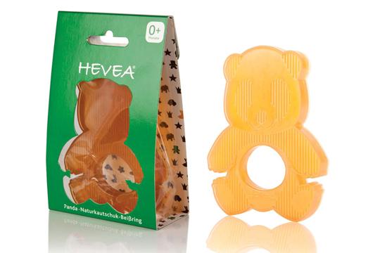 Beißring aus Naturkautschuk von Hevea