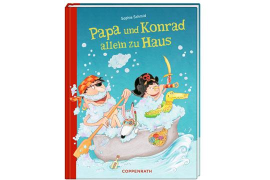 Buchtipp: Papa und Konrad allein zu Haus