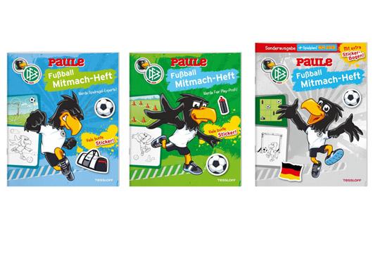 Fußball-WM 2018: Fußball Mitmach-Hefte