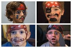 Pirat schminken:Schminkvideos für echte Seeräuber