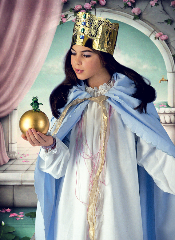 Prinzessin Kostum Nahen Kleid Umhang Familie De