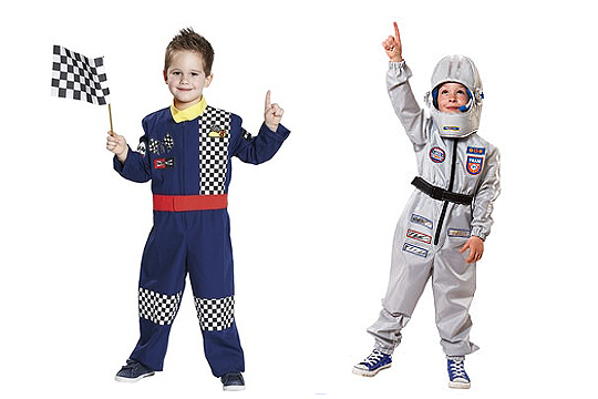Rennfahrer-Kostüm für Jungs