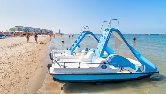 Strand in Rimini