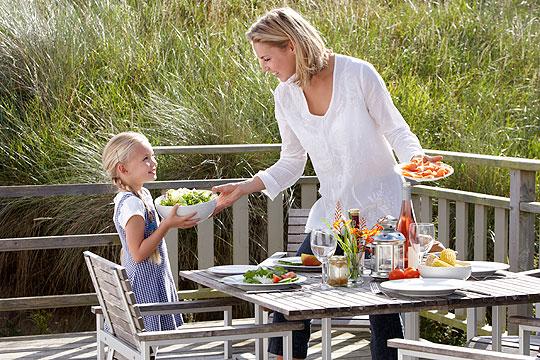 Rituale für Kinder: Tisch decken