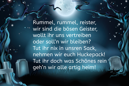 halloween spruch rummel rummel reister bilder. Black Bedroom Furniture Sets. Home Design Ideas