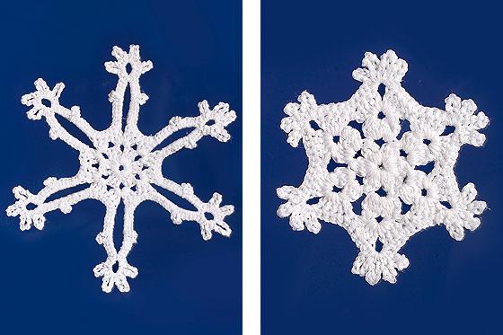 Schneeflocken Häkeln Winterdeko Fürs Fenster Familiede