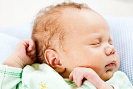 Die fünf Sinne beim Baby