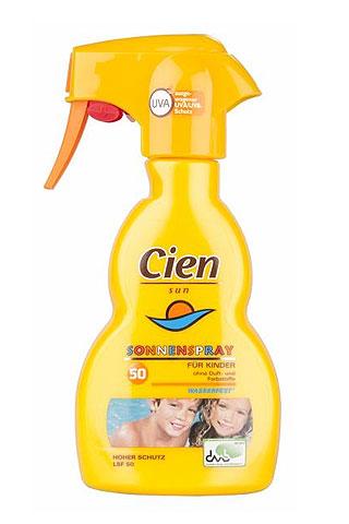 Cien Sun Sonnenspray für Kinder