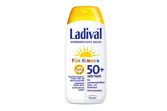 Ladival Sonnenschutz Milch Für Kinder 50+