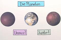 Die Planeten unseres Sonnensystems