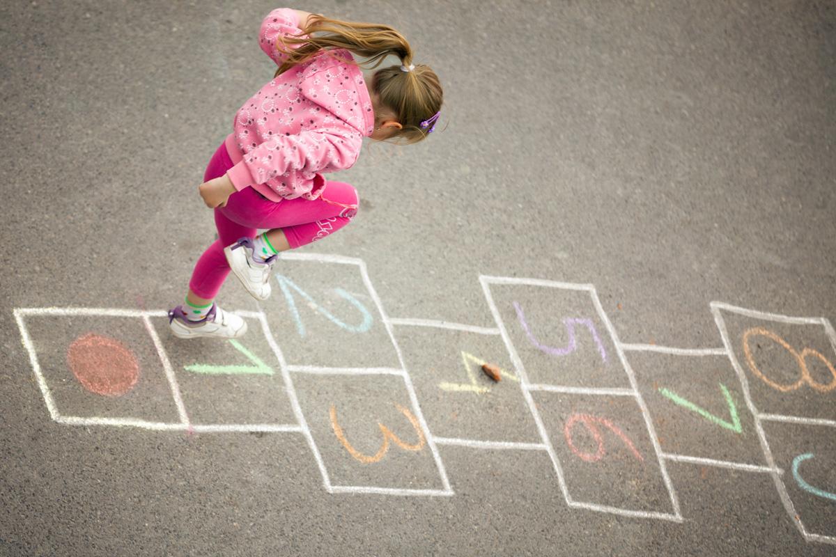 Bewegungsspiele: Spiele für draußen
