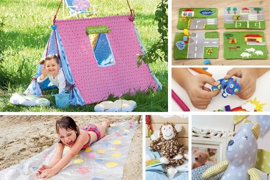 Noch mehr Ideen für DIY-Spielzeuge