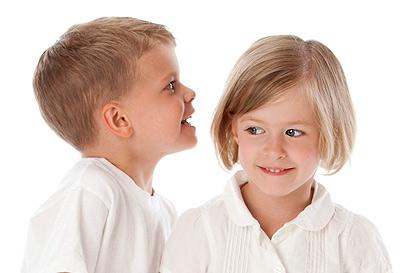 Sprachentwicklung bei Kindern von im 3. bis 4. Jahr